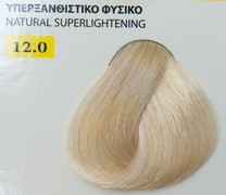 Exclusive color 100ml - 12.0 ΥΠΕΡΞΑΝΘΙΣΤΙΚΟ ΦΥΣΙΚΟ