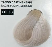 Exclusive color 100ml - 10.13 ΞΑΝΘΟ ΠΛΑΤΙΝΕ ΝΑΚΡΕ