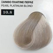 Exclusive color 100ml - 10.8 ΞΑΝΘΟ ΠΛΑΤΙΝΕ ΠΕΡΛΕ