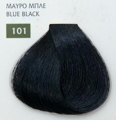 Mediterannean color 60ml - 101 ΜΑΥΡΟ ΜΠΛΕ