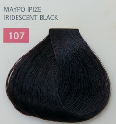 Mediterannean color 60ml - 107 ΜΑΥΡΟ ΙΡΙΖΕ