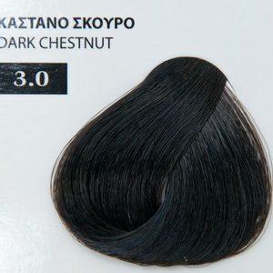 Exclusive color 100ml - 3.0 ΚΑΣΤΑΝΟ ΣΚΟΥΡΟ