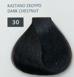 Mediterannean color 60ml - 30 ΚΑΣΤΑΝΟ ΣΚΟΥΡΟ