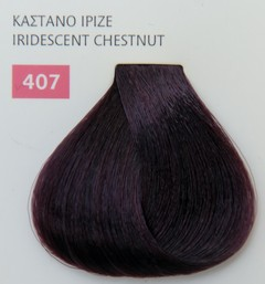 Mediterannean color 60ml - 407 ΚΑΣΤΑΝΟ ΙΡΙΖΕ