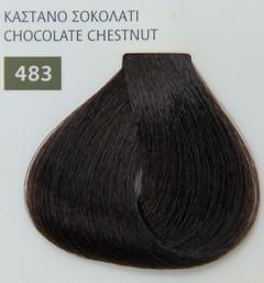Mediterannean color 60ml - 483 ΚΑΣΤΑΝΟ ΣΟΚΟΛΑΤΙ