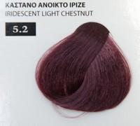 Exclusive color 100ml - 5.2 ΚΑΣΤΑΝΟ ΑΝΟΙΚΤΟ ΙΡΙΖΕ