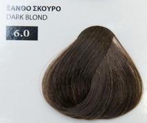 Exclusive color 100ml - 6.0 ΞΑΝΘΟ ΣΚΟΥΡΟ
