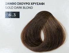 Exclusive color 100ml - 6.3 ΞΑΝΘΟ ΣΚΟΥΡΟ ΧΡΥΣΑΦΙ