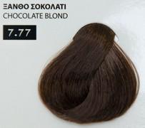 Exclusive color 100ml - 7.77 ΞΑΝΘΟ ΣΟΚΟΛΑΤΙ