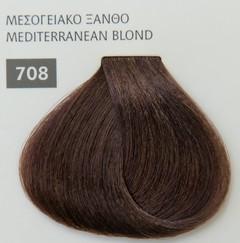 Mediterannean color 60ml - 708 ΜΕΣΟΓΕΙΑΚΟ ΞΑΝΘΟ