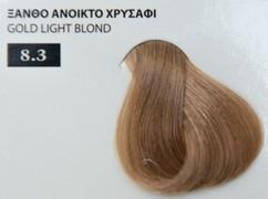 Exclusive color 100ml - 8.3 ΞΑΝΘΟ ΑΝΟΙΚΤΟ ΧΡΥΣΑΦΙ