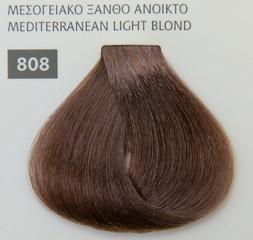 Mediterannean color 60ml - 808 ΜΕΣΟΓΕΙΑΚΟ ΞΑΝΘΟ ΑΝΟΙΚΤΟ