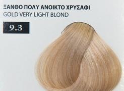 Exclusive color 100ml - 9.3 ΞΑΝΘΟ ΠΟΛΥ ΑΝΟΙΚΤΟ ΧΡΥΣΑΦΙ