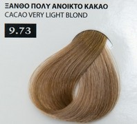Exclusive color 100ml - 9.73 ΞΑΝΘΟ ΠΟΛΥ ΑΝΟΙΚΤΟ ΚΑΚΑΟ