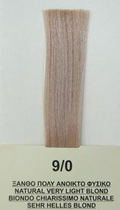 Mediterannean color BIO 60ml - 9/0 ΞΑΝΘΟ ΠΟΛΥ ΑΝΟΙΚΤΟ ΦΥΣΙΚΟ